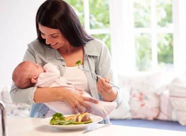 Guía básica de lactancia materna: Requerimientos nutricionales